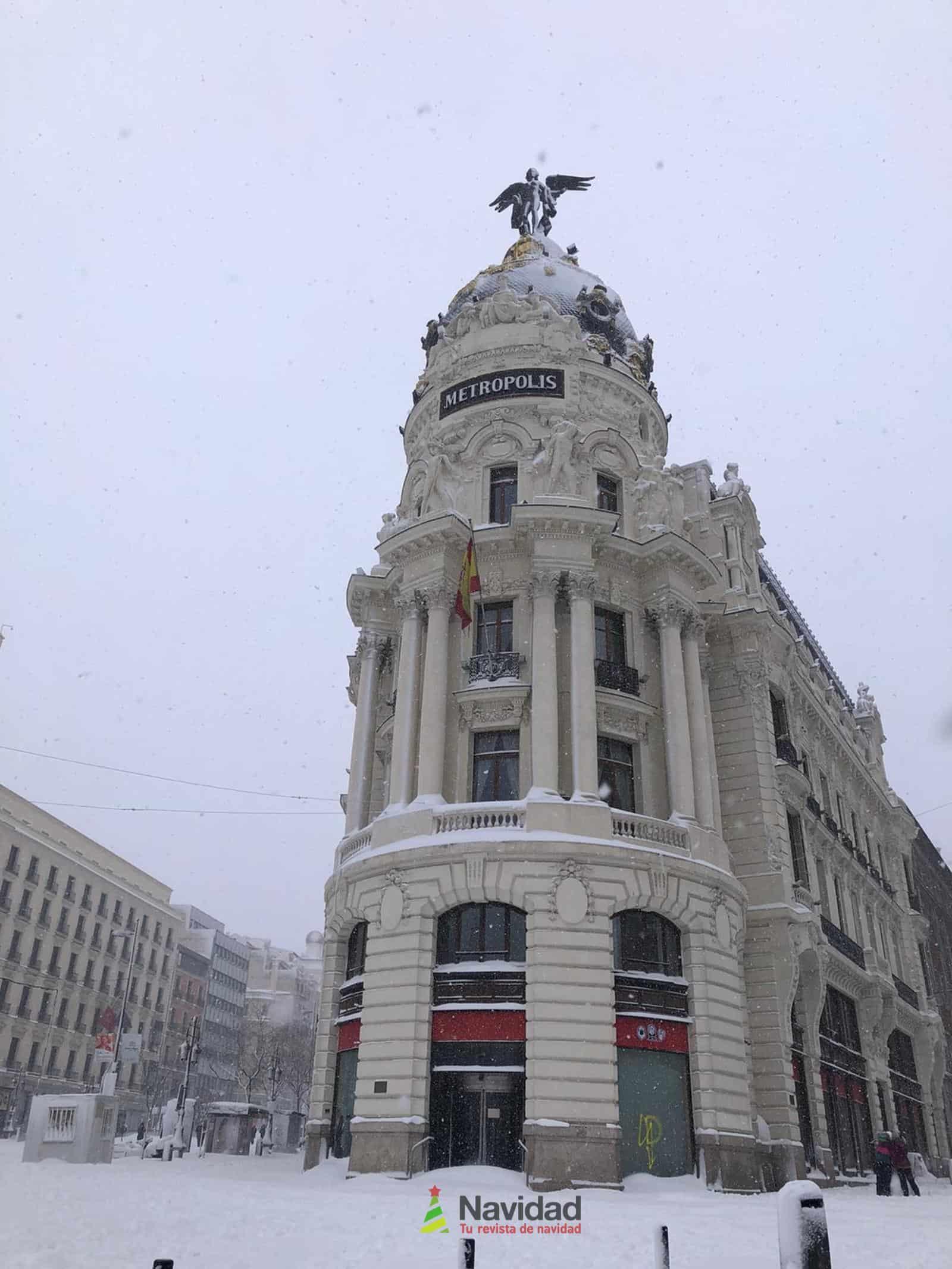 Fotografías de la nevada de enero en Madrid (España) 170