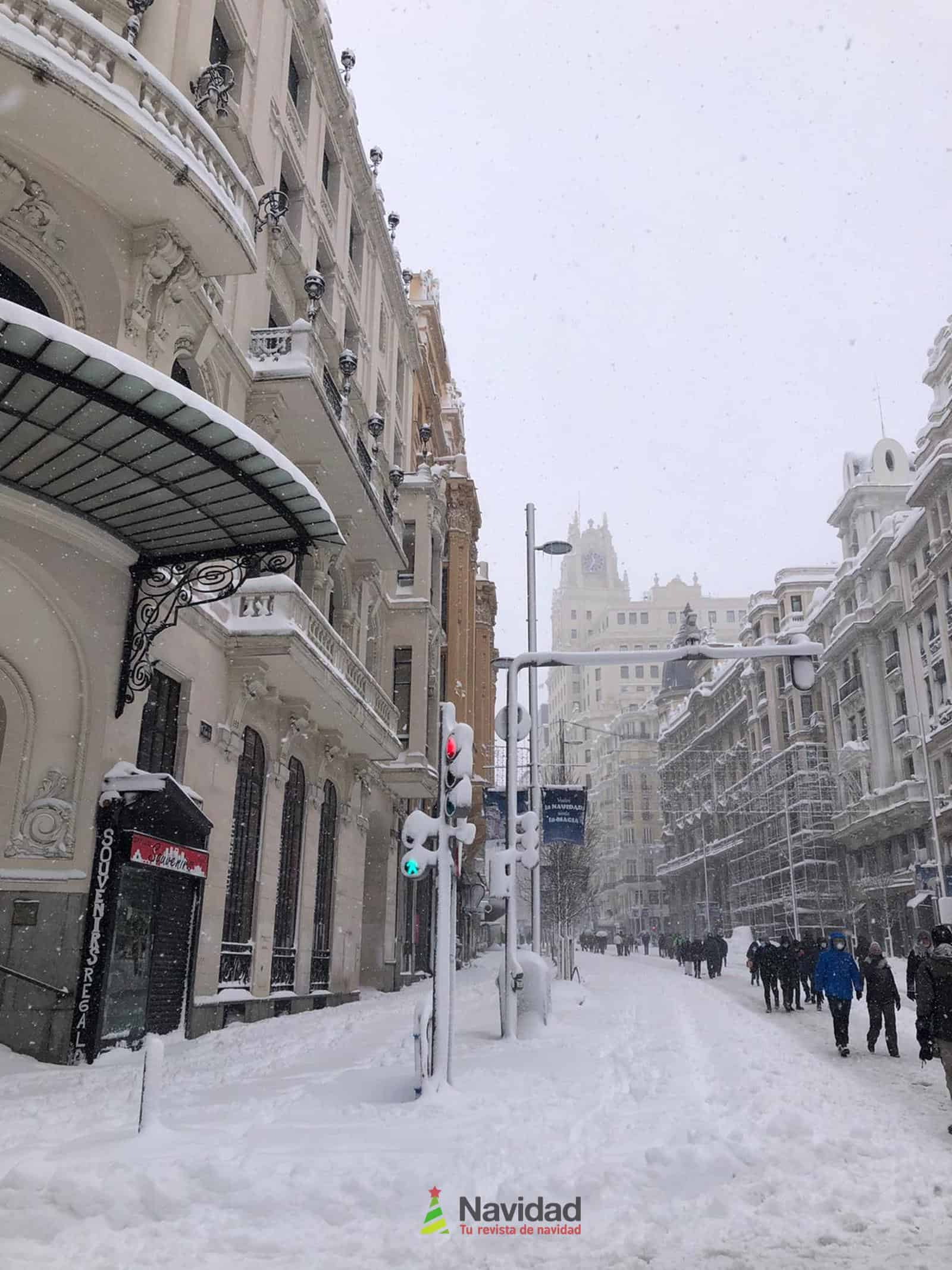 Fotografías de la nevada de enero en Madrid (España) 175