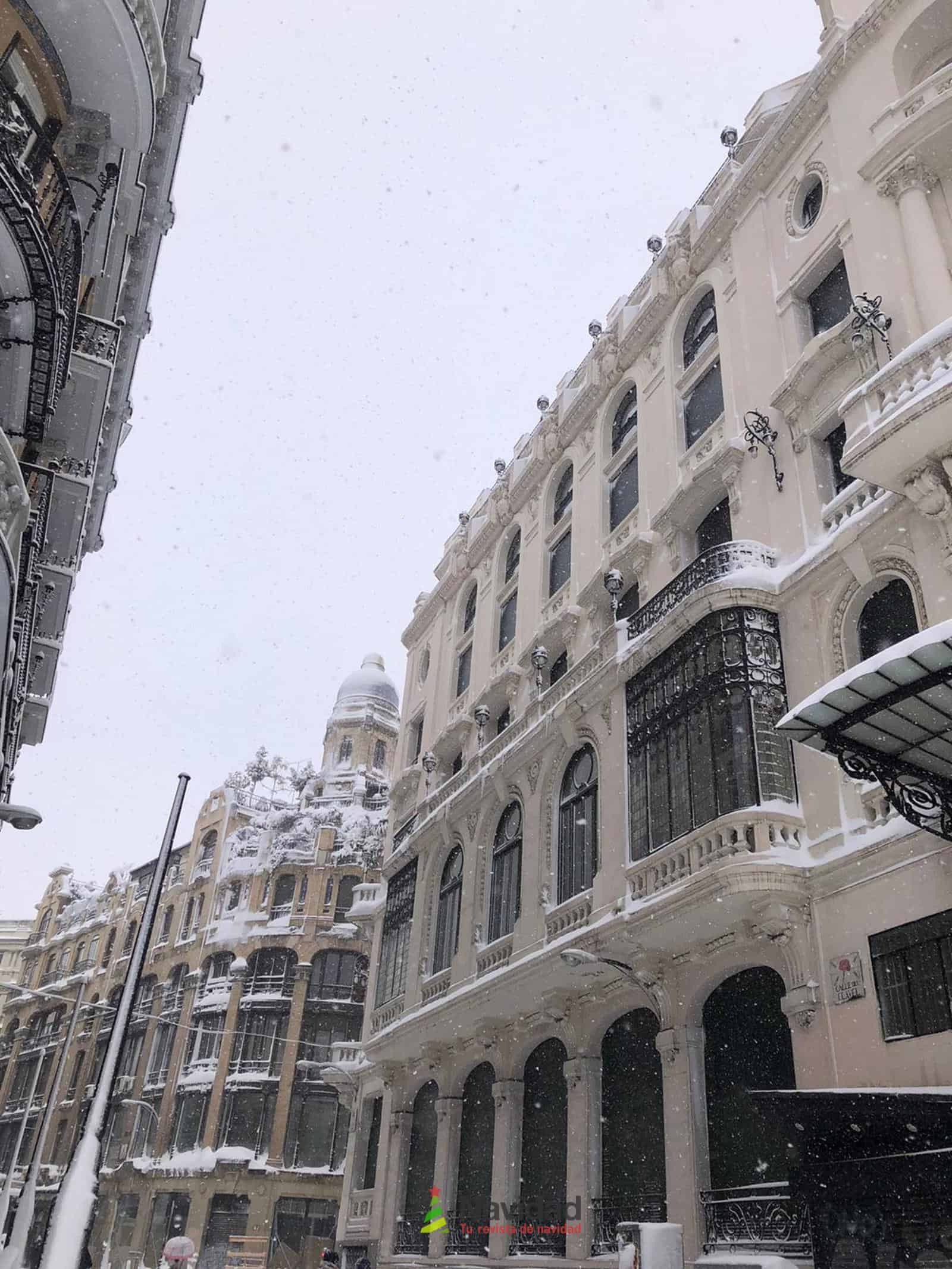 Fotografías de la nevada de enero en Madrid (España) 177