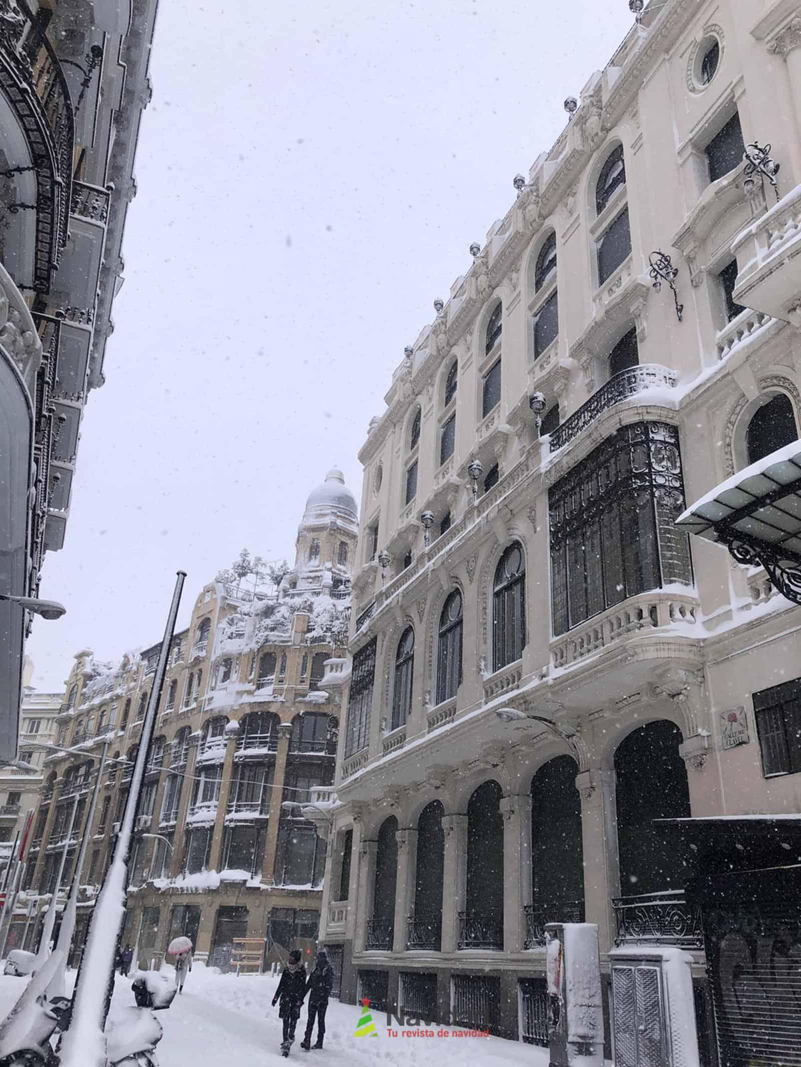 Fotografías de la nevada de enero en Madrid (España) 179