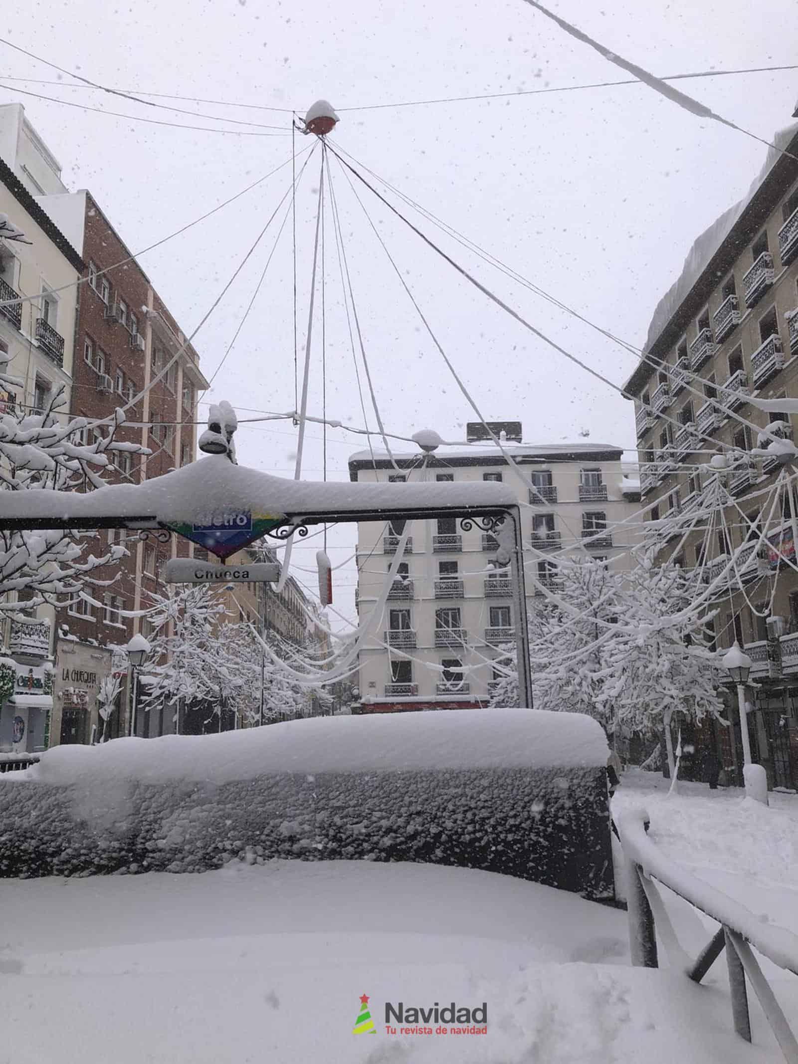 Fotografías de la nevada de enero en Madrid (España) 183