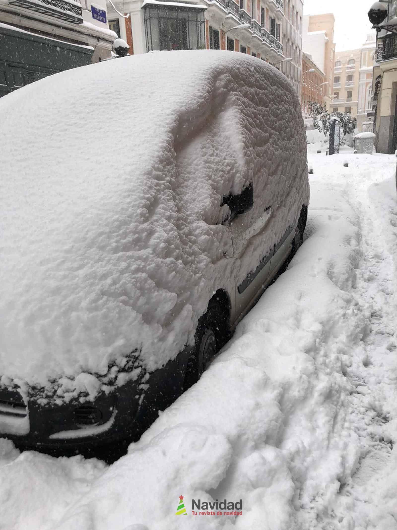 Fotografías de la nevada de enero en Madrid (España) 184
