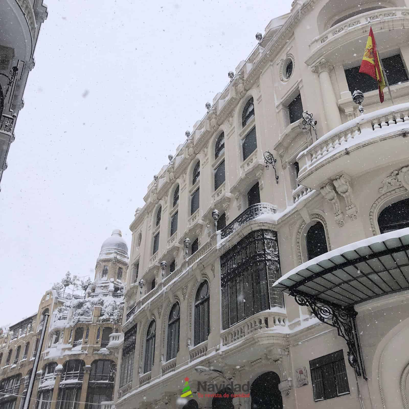 Fotografías de la nevada de enero en Madrid (España) 187