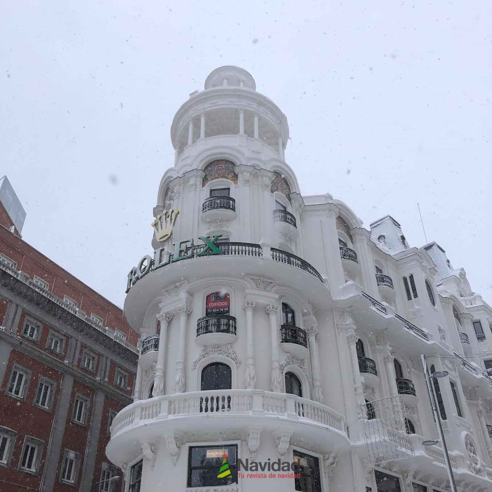 Fotografías de la nevada de enero en Madrid (España) 191