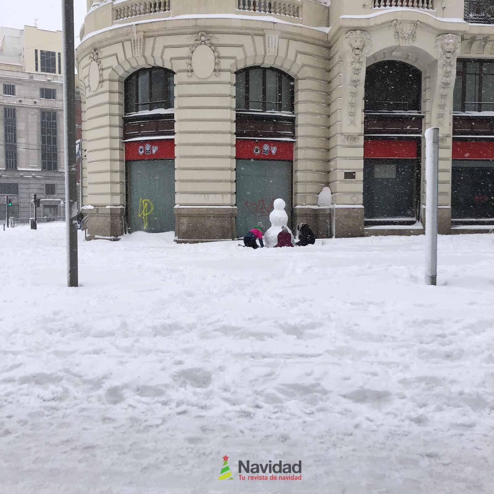 Fotografías de la nevada de enero en Madrid (España) 192