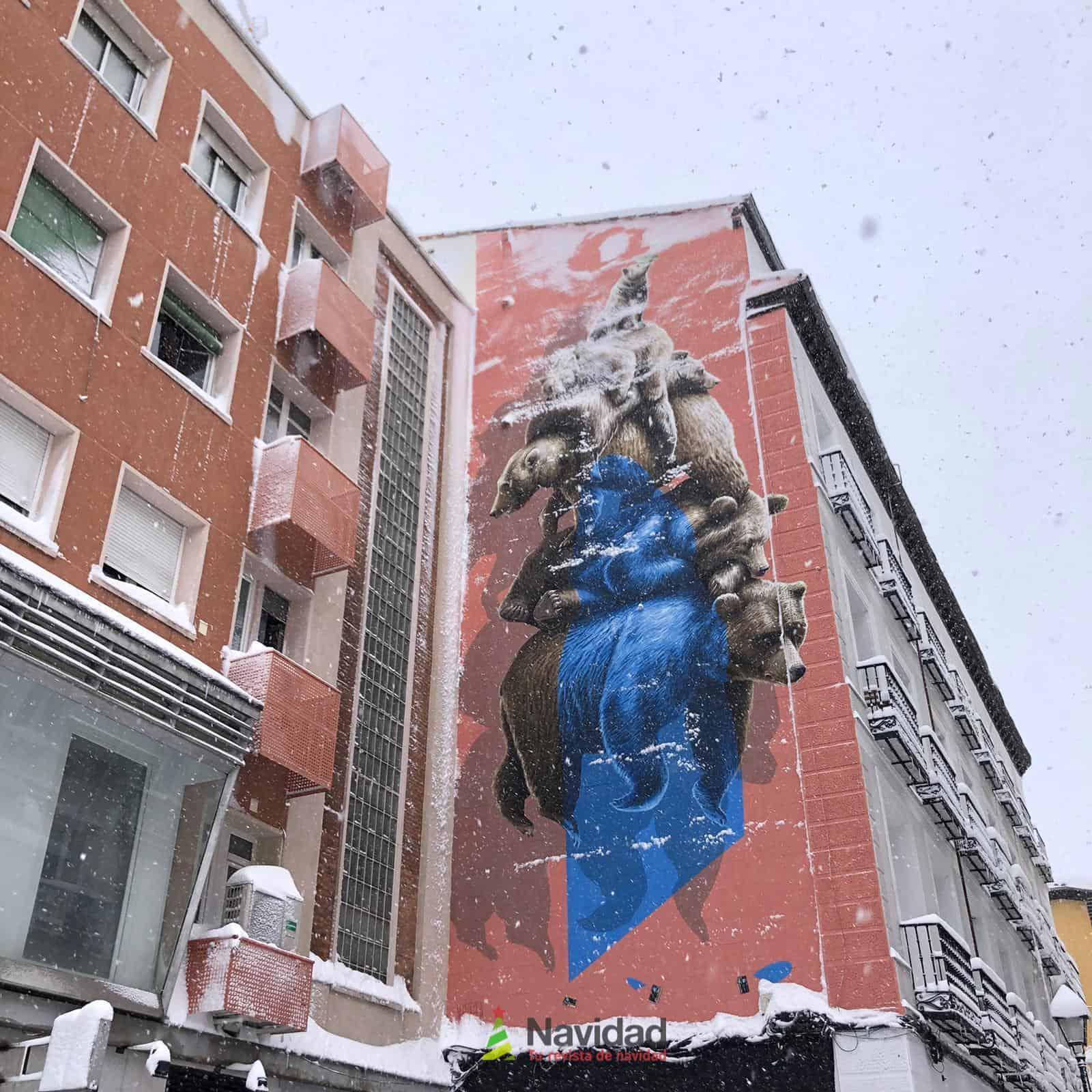 Fotografías de la nevada de enero en Madrid (España) 198