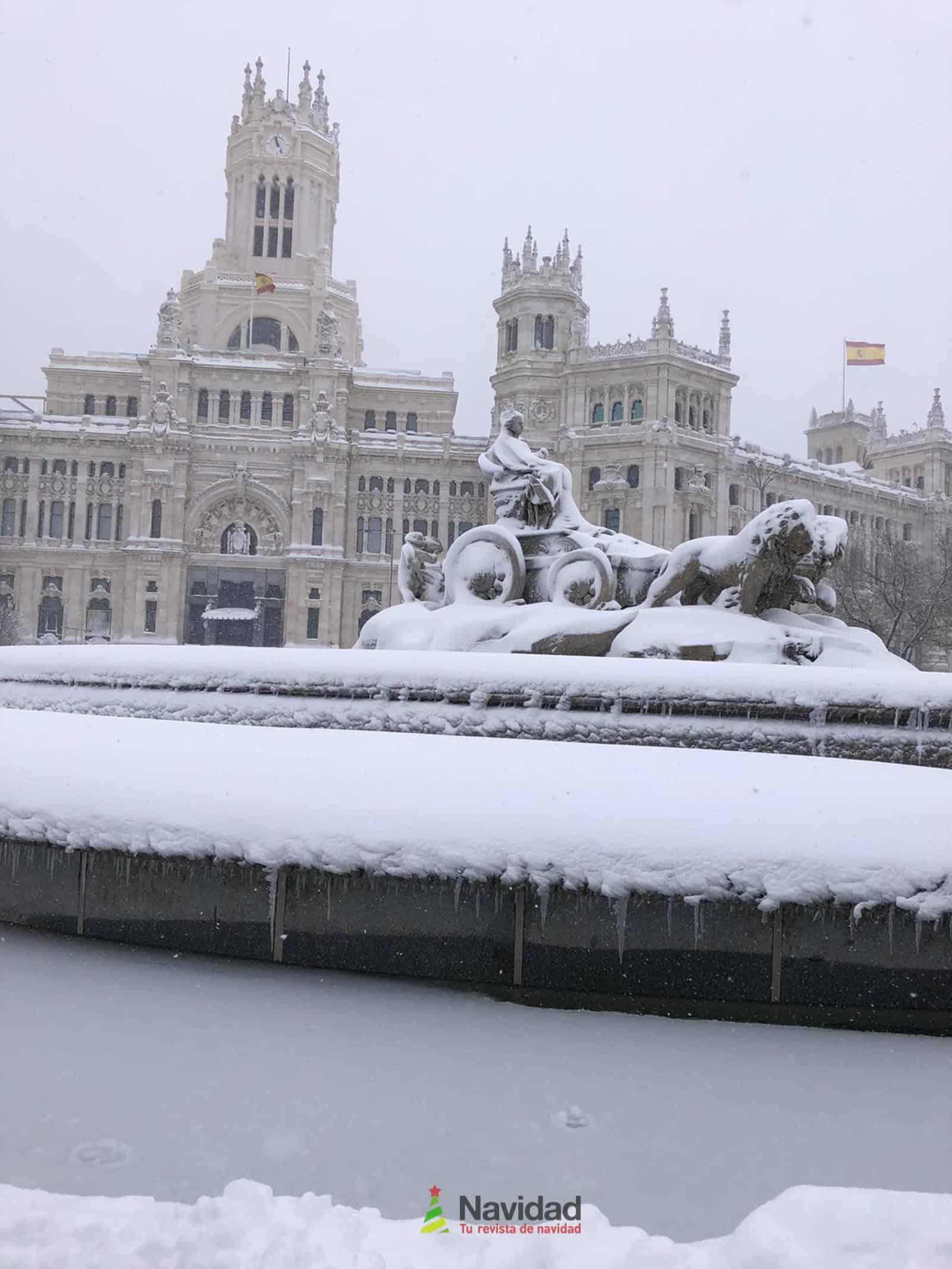 Fotografías de la nevada de enero en Madrid (España) 164