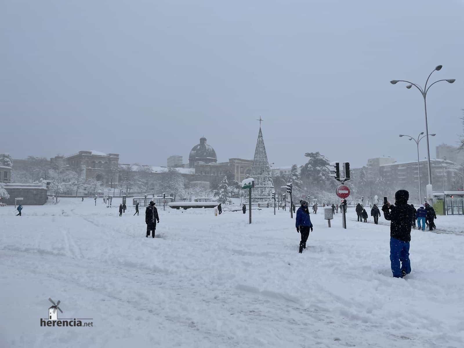 Fotografías de la nevada de enero en Madrid (España) 212