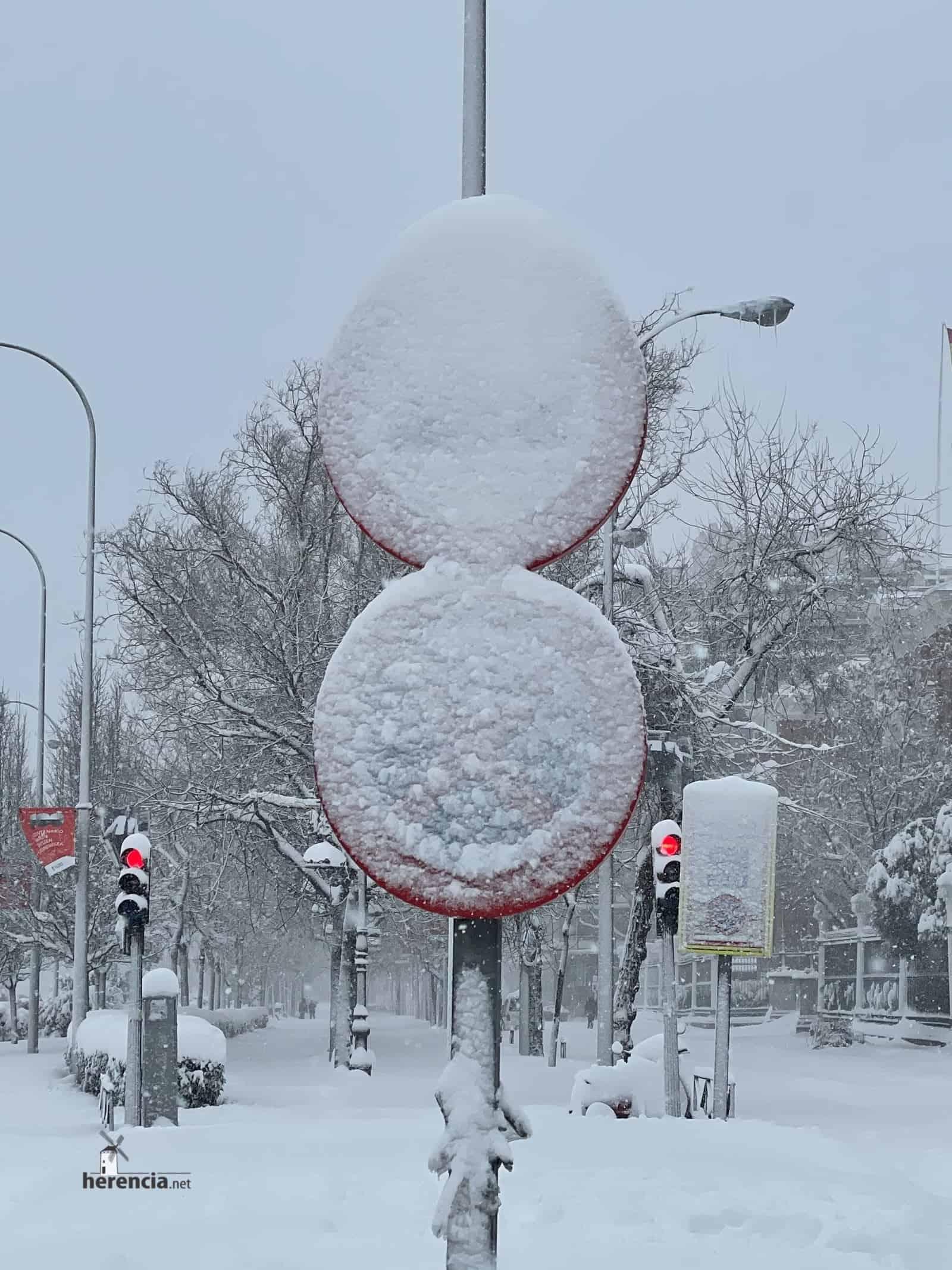 Fotografías de la nevada de enero en Madrid (España) 217