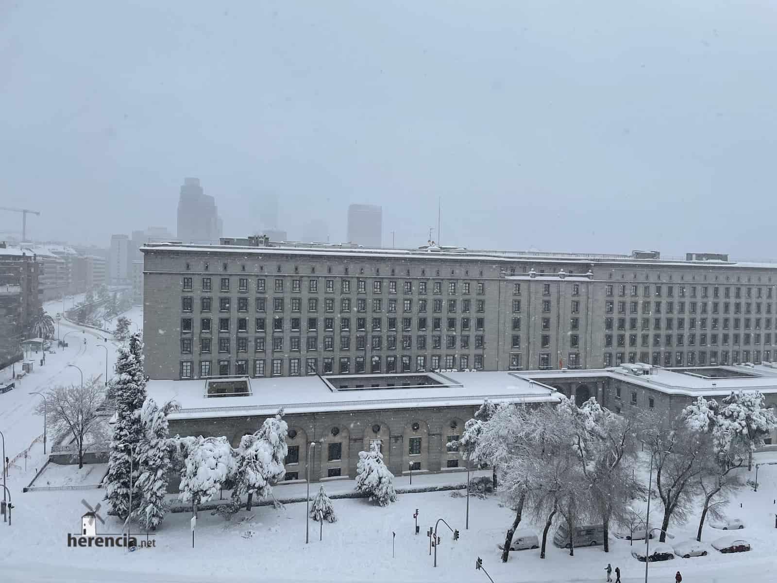 Fotografías de la nevada de enero en Madrid (España) 200