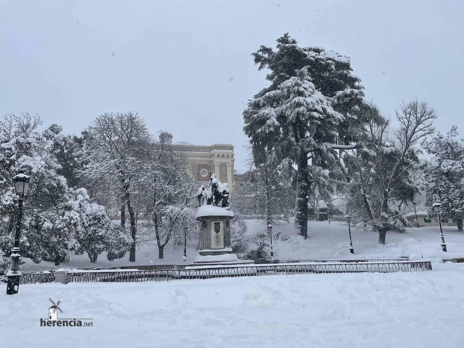 Fotografías de la nevada de enero en Madrid (España) 223