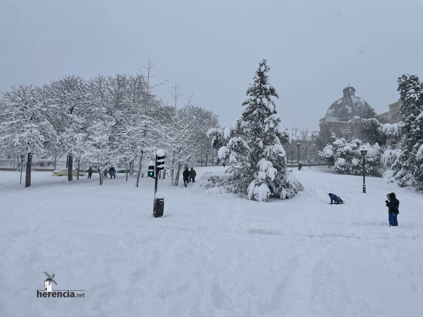 Fotografías de la nevada de enero en Madrid (España) 224