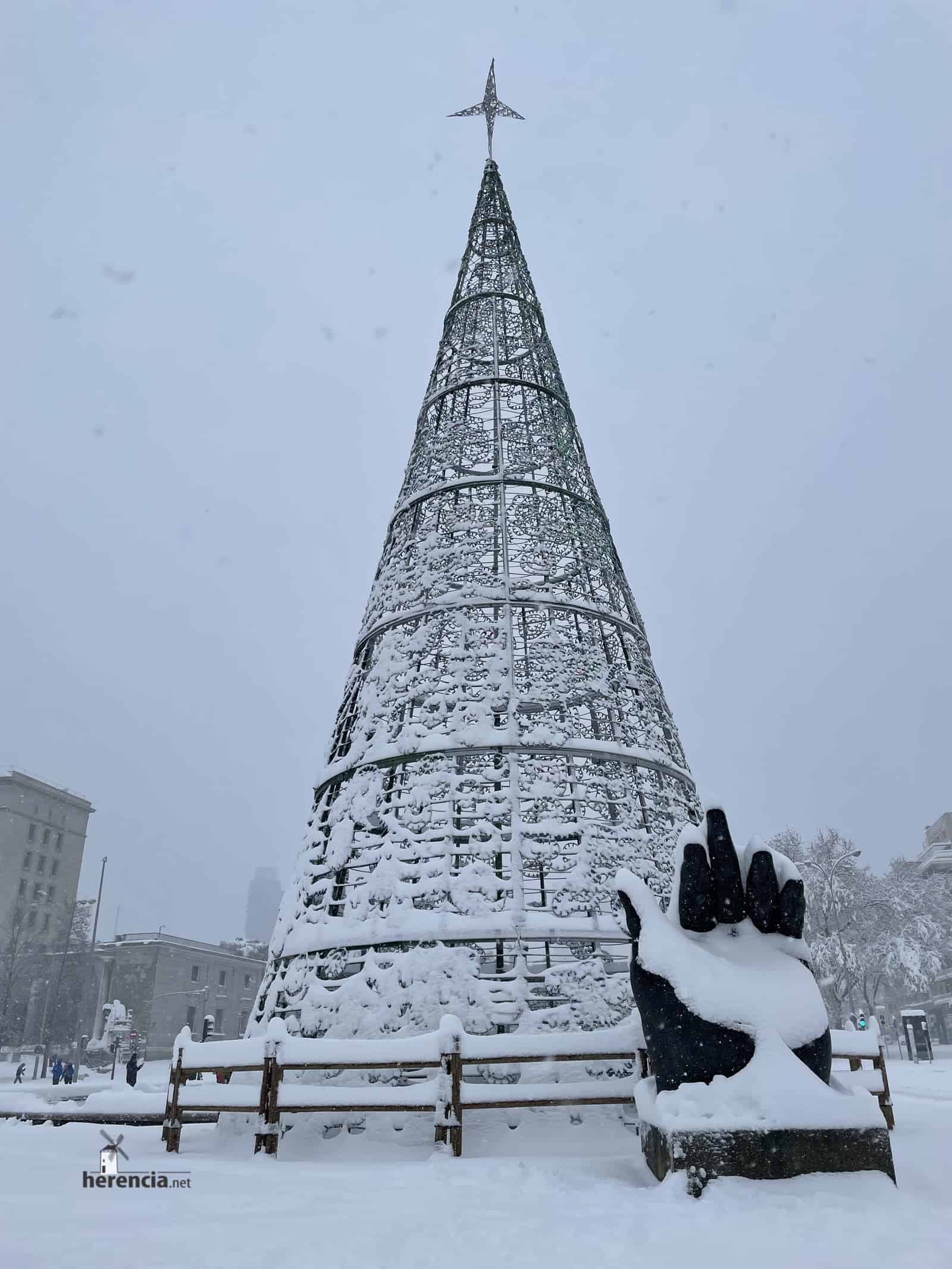Fotografías de la nevada de enero en Madrid (España) 225