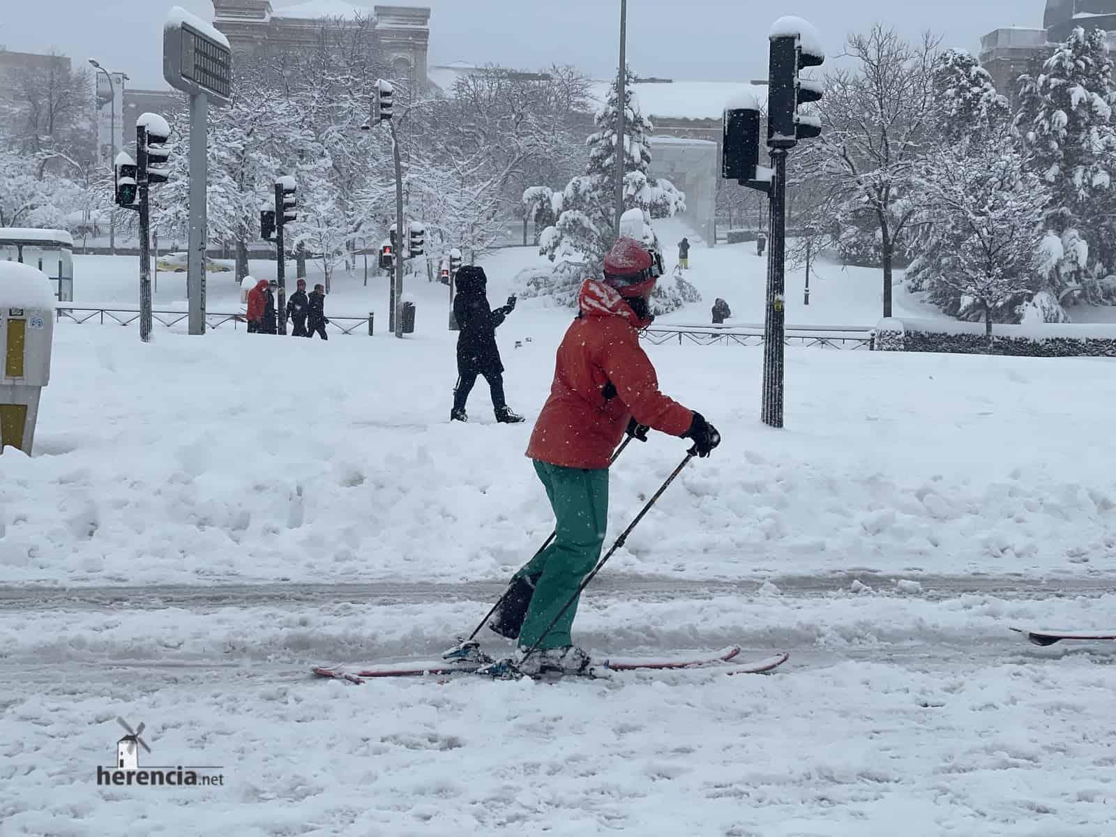 Fotografías de la nevada de enero en Madrid (España) 226