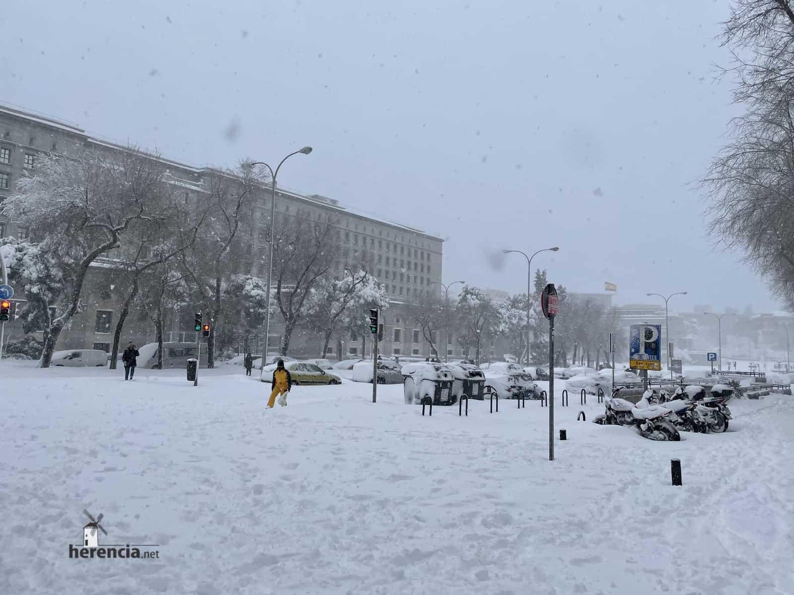 Fotografías de la nevada de enero en Madrid (España) 229