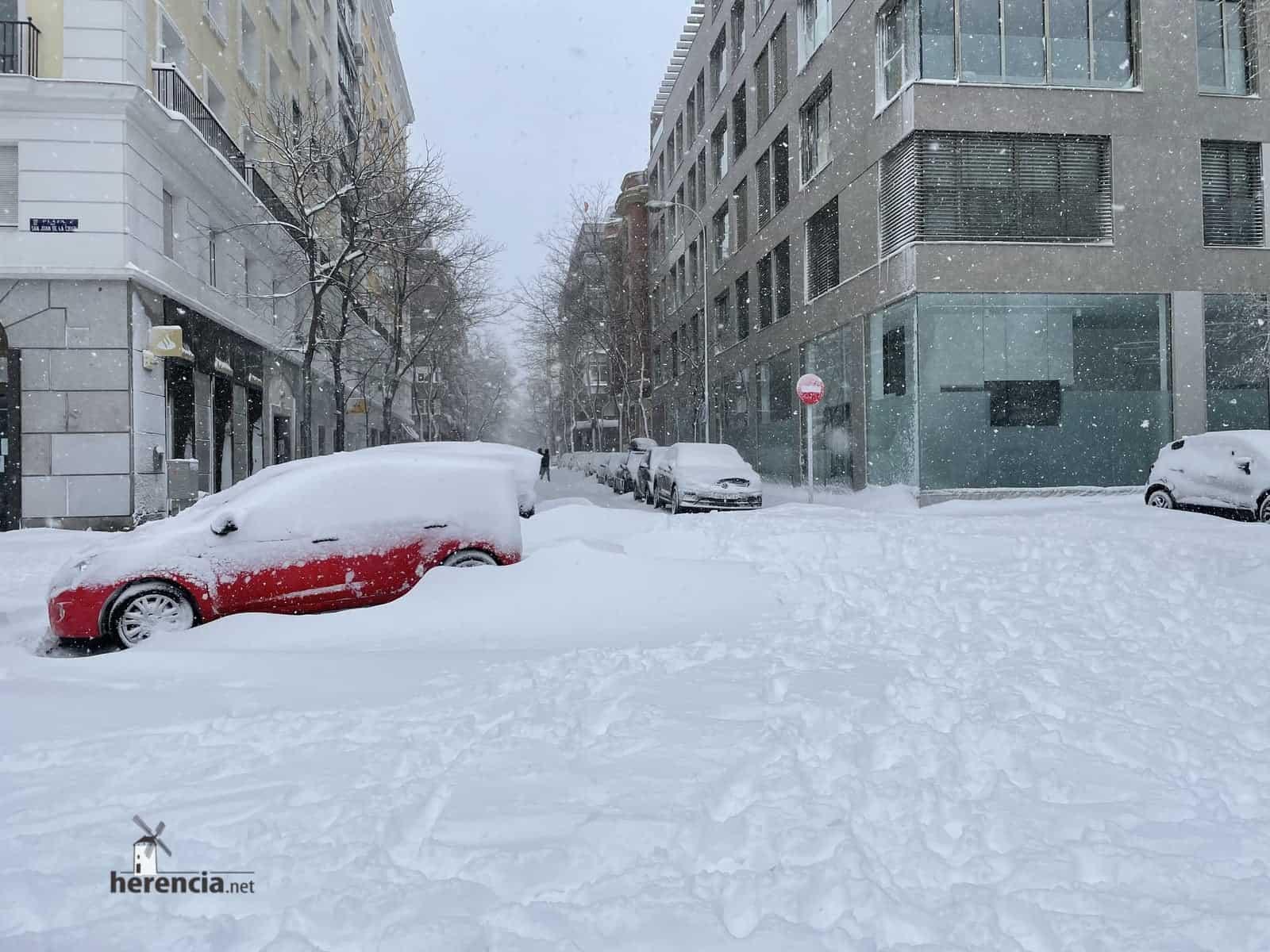 Fotografías de la nevada de enero en Madrid (España) 231