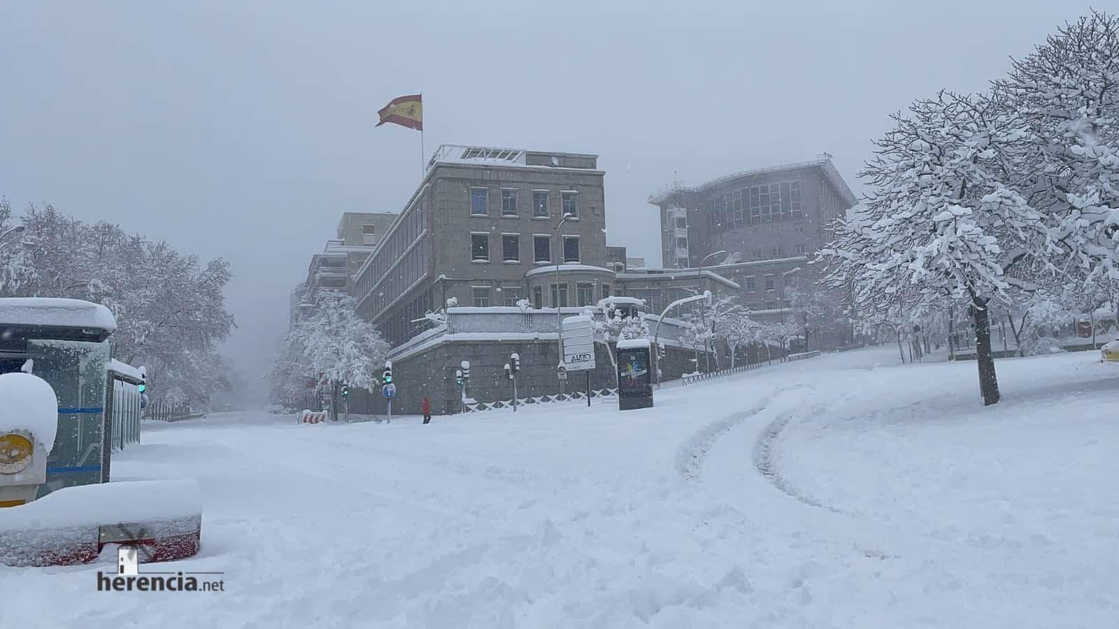 Fotografías de la nevada de enero en Madrid (España) 234