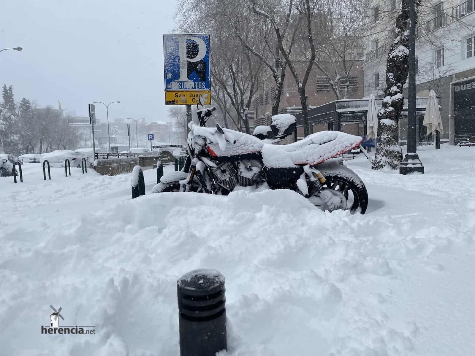 Fotografías de la nevada de enero en Madrid (España) 204