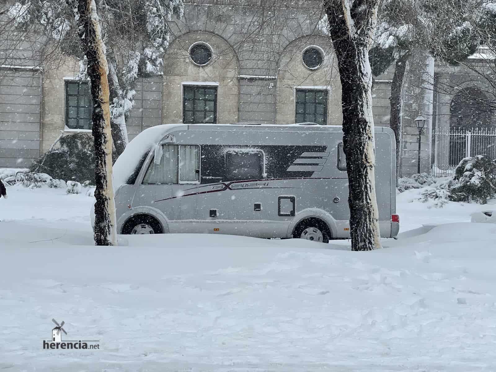 Fotografías de la nevada de enero en Madrid (España) 207