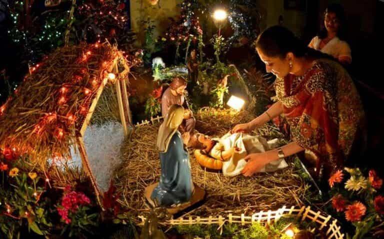 Cómo se celebra la Navidad en la India