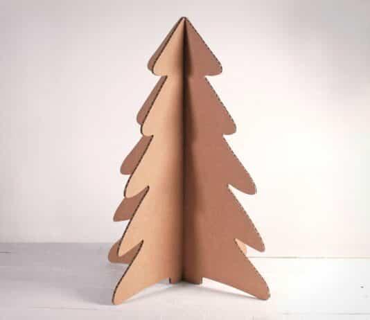 arbol de navidad carton